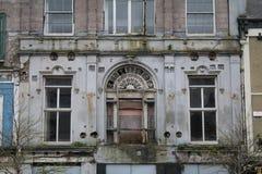 Пустое историческое здание стоковые фото
