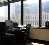 Пустое и безработное рабочее место Стоковое фото RF