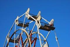пустое колесо ferris стоковые изображения rf