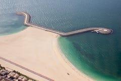 пустое море пристани стоковые изображения rf