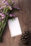 Пустое настроение поздравительной открытки романтичное Стоковое фото RF
