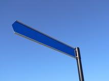 пустое небо знака Стоковая Фотография RF