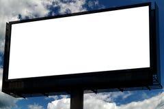 пустое небо знака Стоковое фото RF