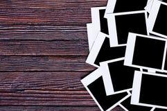 пустое немедленное фото Стоковые Изображения RF