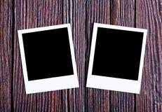 пустое немедленное фото Стоковая Фотография RF