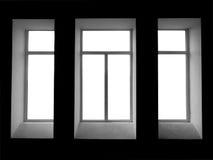 пустое окно Стоковые Изображения RF