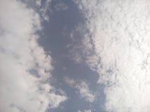 Пустое пространство между облаками Стоковая Фотография RF
