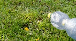 Пустое пластичное bootle Стоковое Изображение RF