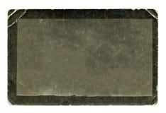 Пустое старое черно-белое фото Стоковое фото RF