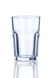 Пустое стекло   Стоковая Фотография RF