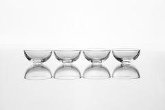 Пустое стекло несколько из шаров Стоковые Фотографии RF