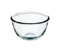 Пустое стекло шара изолированное на белой предпосылке Стоковые Фото