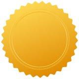 Пустое уплотнение сертификата Стоковые Изображения
