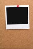пустое фото corkboard Стоковое фото RF