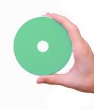 пустое cd удерживание руки dvd диска Стоковые Изображения