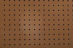 пустое pegboard Стоковое Фото