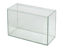 Пустой аквариум Стоковые Фотографии RF