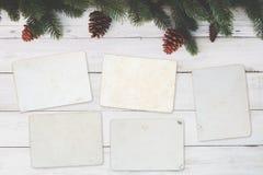 Пустой альбом рамки фото Стоковое Изображение RF