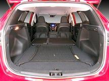 Пустой багажник автомобиля Стоковое Фото
