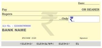 пустой банковский счет Стоковое фото RF