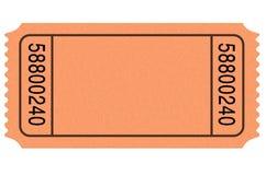 пустой билет кино Стоковое Изображение RF