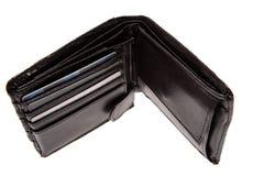 пустой бумажник Стоковая Фотография