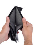 пустой бумажник Стоковое Фото