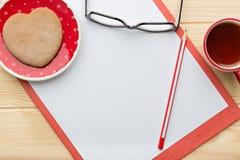пустой бумажный лист стоковое изображение rf