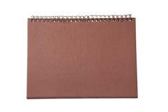 Пустой бумажный календар Стоковое фото RF