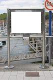 пустой бюллетень доски Стоковое фото RF