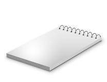 Пустой блокнот & x28; notebook& x29; изолированный Стоковое Фото
