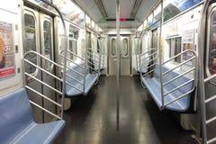 Пустой вагон метро Стоковое Фото