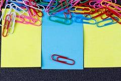 пустой вектор листа бумаги иллюстрации Стоковые Изображения