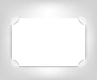 пустой вектор фото рамки Стоковое фото RF