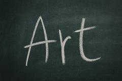 пустой вектор chalkboard Стоковая Фотография