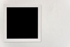 Пустой вид рамок на белых стенах Стоковое Фото