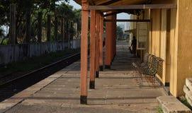 Пустой вокзал Стоковое Изображение RF