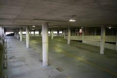Пустой гараж в внутренней гавани в Балтиморе, Мэриленде Стоковые Изображения