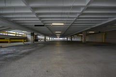 Пустой гараж в Йорке, Пенсильвании Стоковое Изображение RF