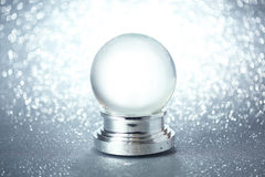 Пустой глобус снега Стоковое фото RF