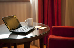 пустой домашний офис Стоковая Фотография
