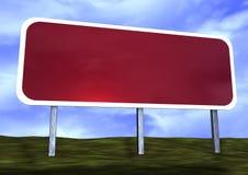 пустой дорожный знак Стоковые Фото