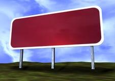 пустой дорожный знак Стоковое фото RF