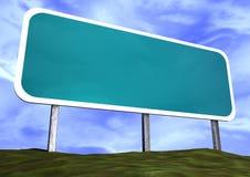 пустой дорожный знак Стоковое Фото