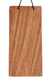 Пустой деревянный знак Стоковое фото RF