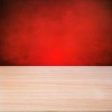 Пустой деревянный стол Стоковое Изображение