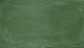 пустой зеленый цвет chalkboard Предпосылка и текстура Стоковые Изображения RF