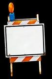 пустой знак тротуара Стоковое фото RF