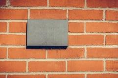 Пустой знак числа дома для вашего текста стоковые фотографии rf