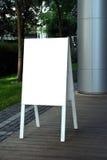 пустой знак Стоковая Фотография RF